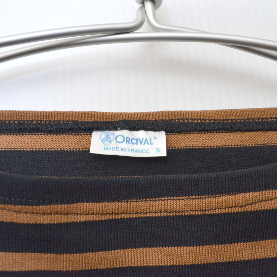 フランス製 コットン ボーダー カットソー バスクシャツの買取実績画像