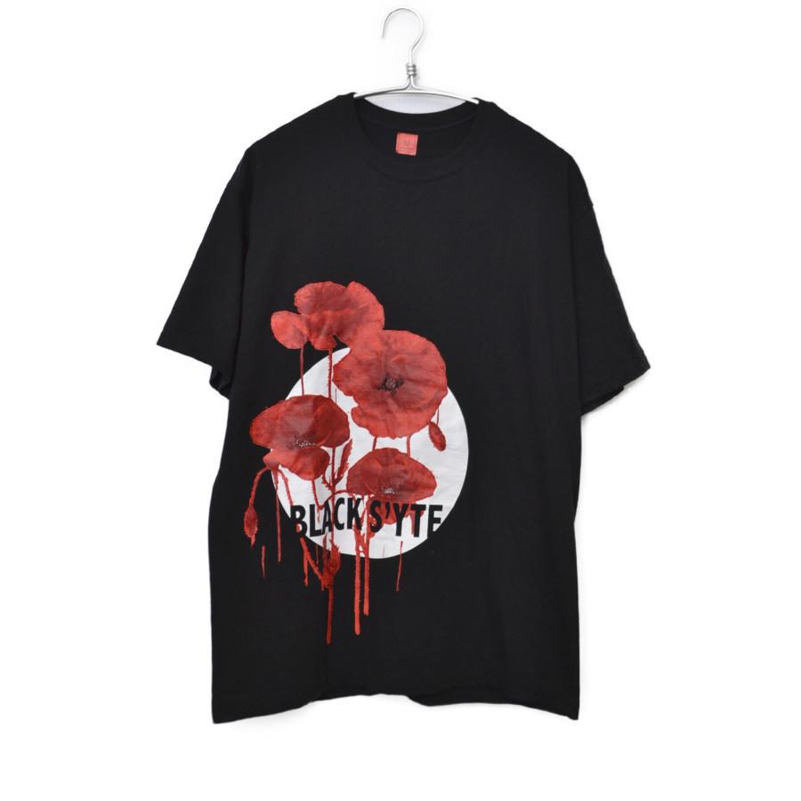 s'yte/久米繊維 BLACK S'YTE プリントTシャツ