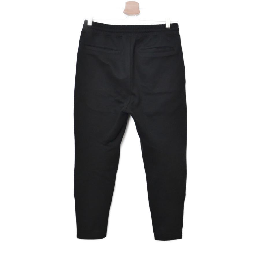 2019SS/ TECH KNIT SLIM FIT HEM ZIP EASY PANTS ダブルニット イージー パンツの買取実績画像