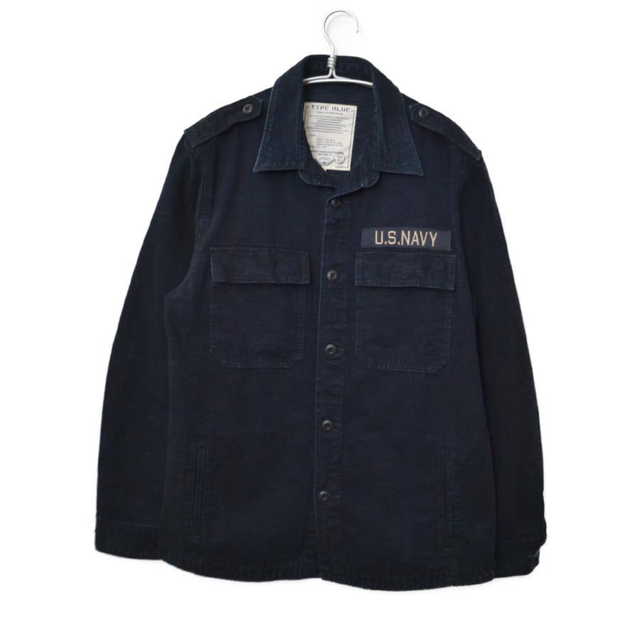 TYPE BLUE DENIM JACKET SHIRT デニム ジャケット シャツ