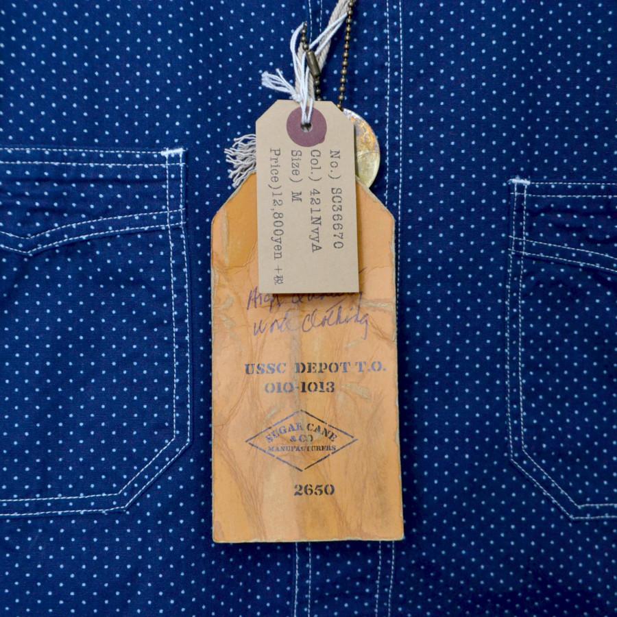 4.5oz POLKA DOT ポルカドット 半袖 ワークシャツの買取実績画像