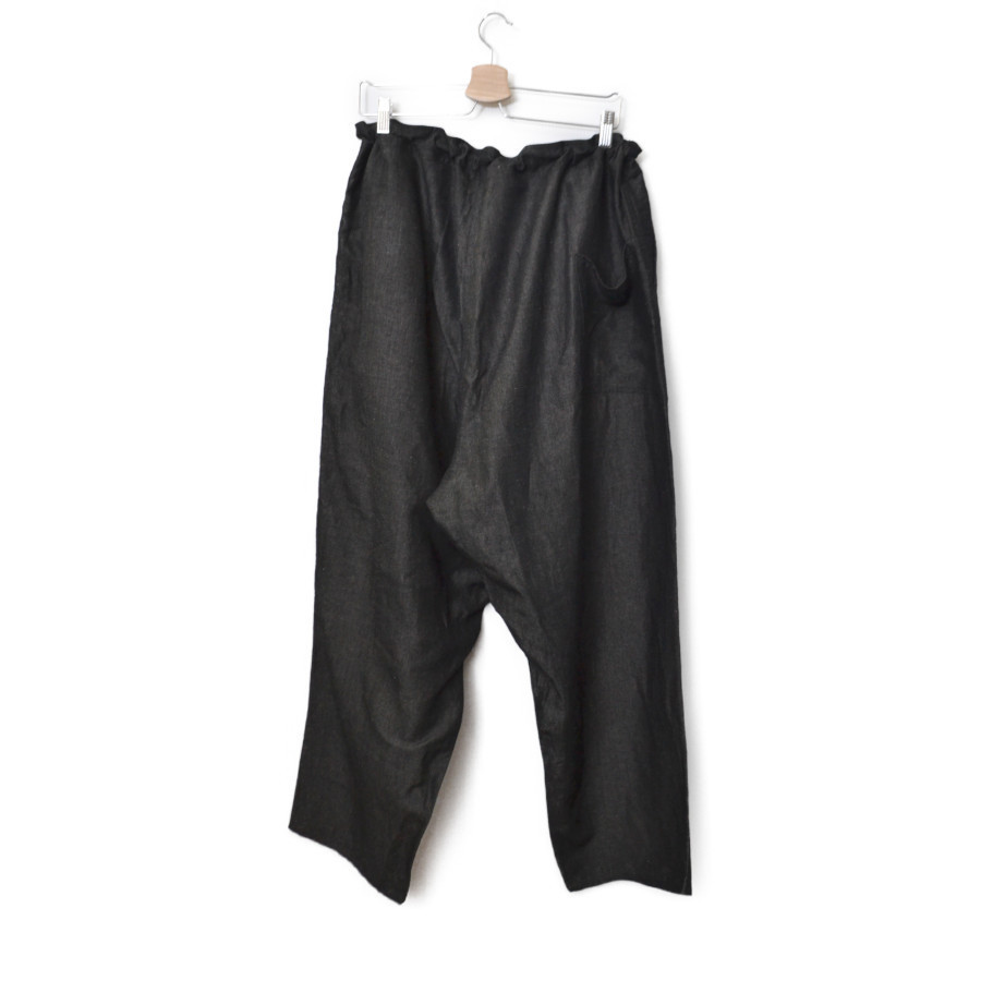 2019SS/ バンブー リネン スラブ ワイド パンツの買取実績画像