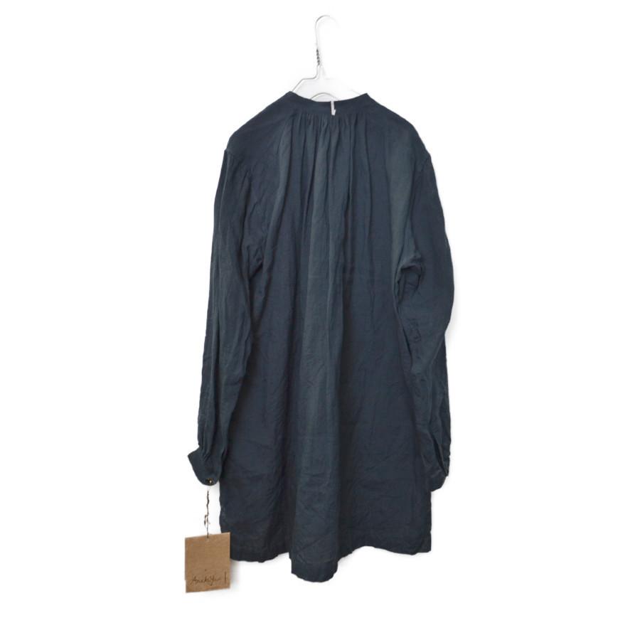 2019SS/ バンドカラー タック リネン シャツの買取実績画像