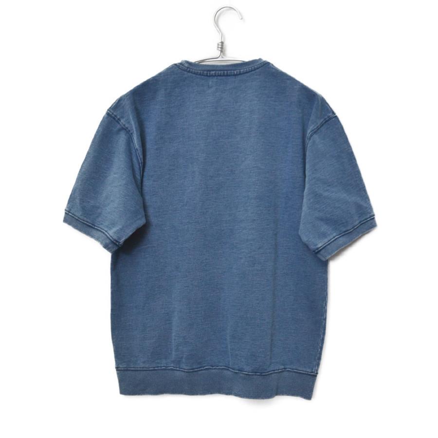 インディゴ染め スウェット 半袖 Tシャツの買取実績画像