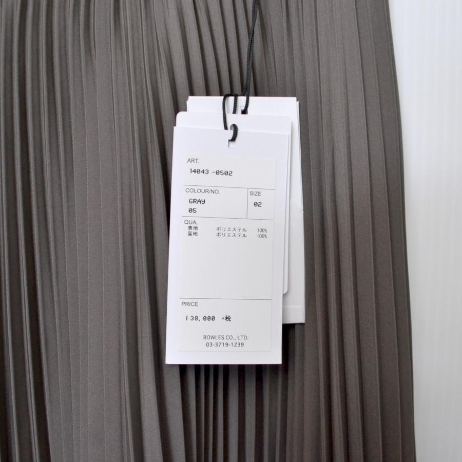 2020SS/ PLEATED SKIRT プリーツスカートの買取実績画像