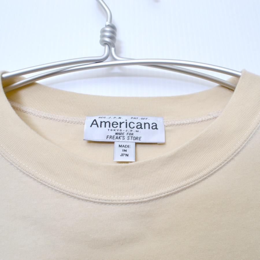 × FREAK'S STORE ◆ 別注 バックプリント ビックTシャツの買取実績画像