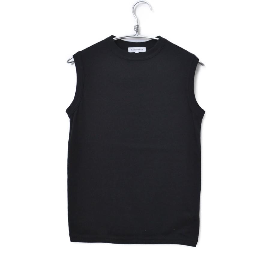 2019SS/ CREW NECK クルーネック ノースリーブTシャツ