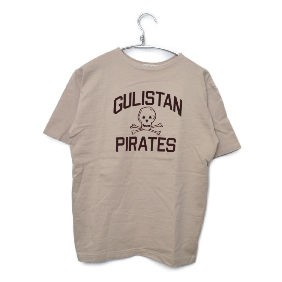 GULISTAN PIRATES フロッキープリント Tシャツ