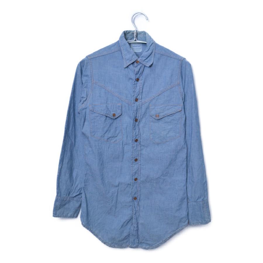 1950-60s ヴィンテージ デニムウエスタンシャツ