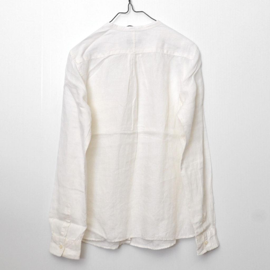 リネンギャザー バンドカラーシャツの買取実績画像