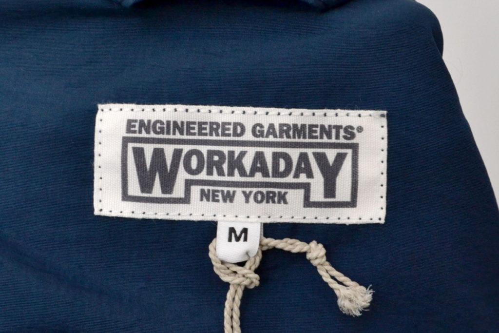 WORKADAY/Shop Coat – 2Ply Nylon Taslan ナイロン ショップコートの買取実績画像