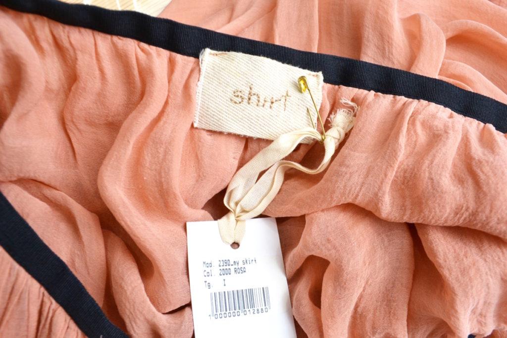 ウエストゴム シルク マキシ とろみ スカートの買取実績画像