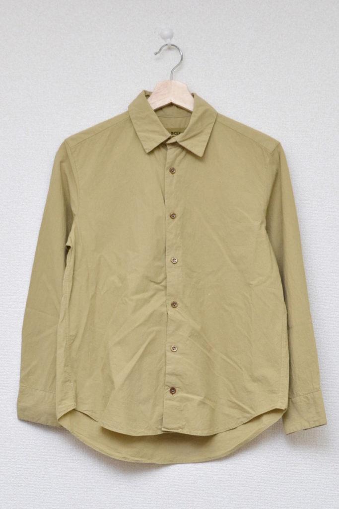 草木染め コットンシャツ