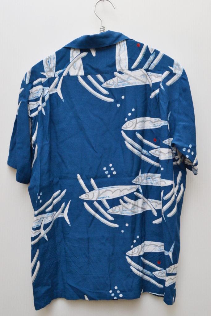 GOMA SABA ゴマサバ レーヨンアロハシャツの買取実績画像
