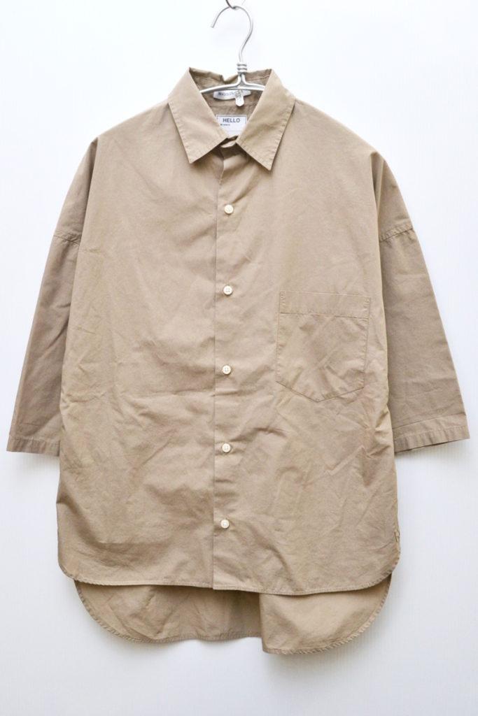 J・BRADLEY SHIRT 七分袖シャツ