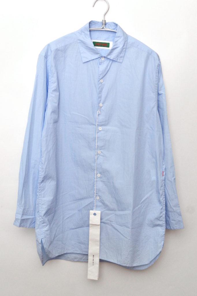 CRISP LONG SLEEVE SHIRT クリスプ オーバーサイズシャツ