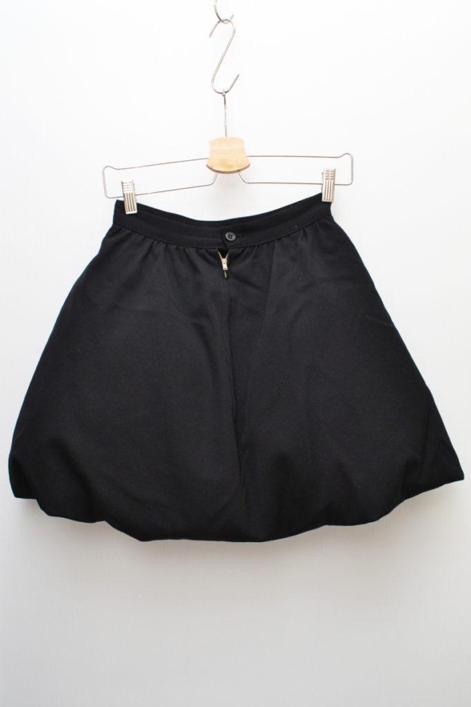 1980s 初期/ウールギャバジン 中綿 ボリュームスカートの買取実績画像