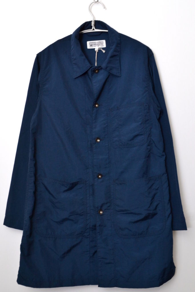 WORKADAY/Shop Coat – 2Ply Nylon Taslan ナイロン ショップコート