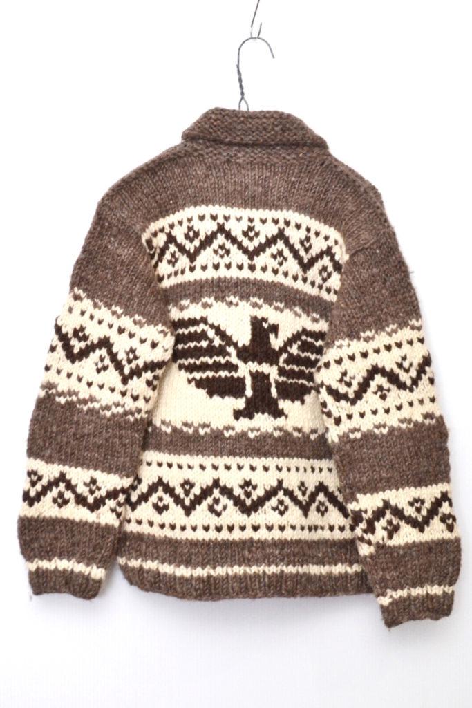 CANADIAN COWICHAN SWEATER ノルディック柄 カウチンセーターカーディガンの買取実績画像