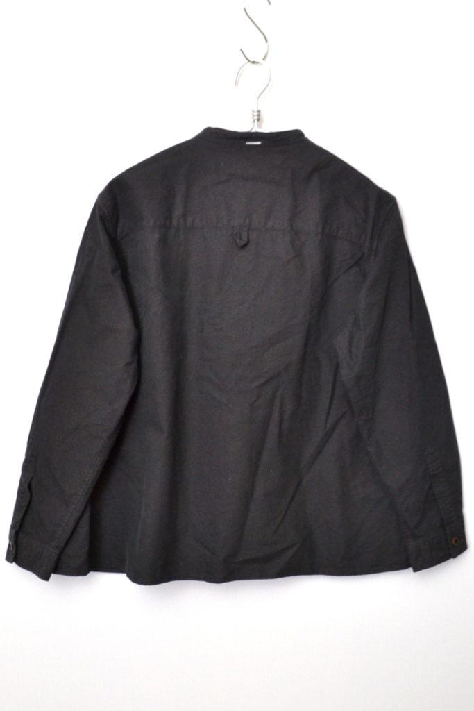 2019AW/ SOFT HOPSACK コットン オックス ノーカラー シャツの買取実績画像