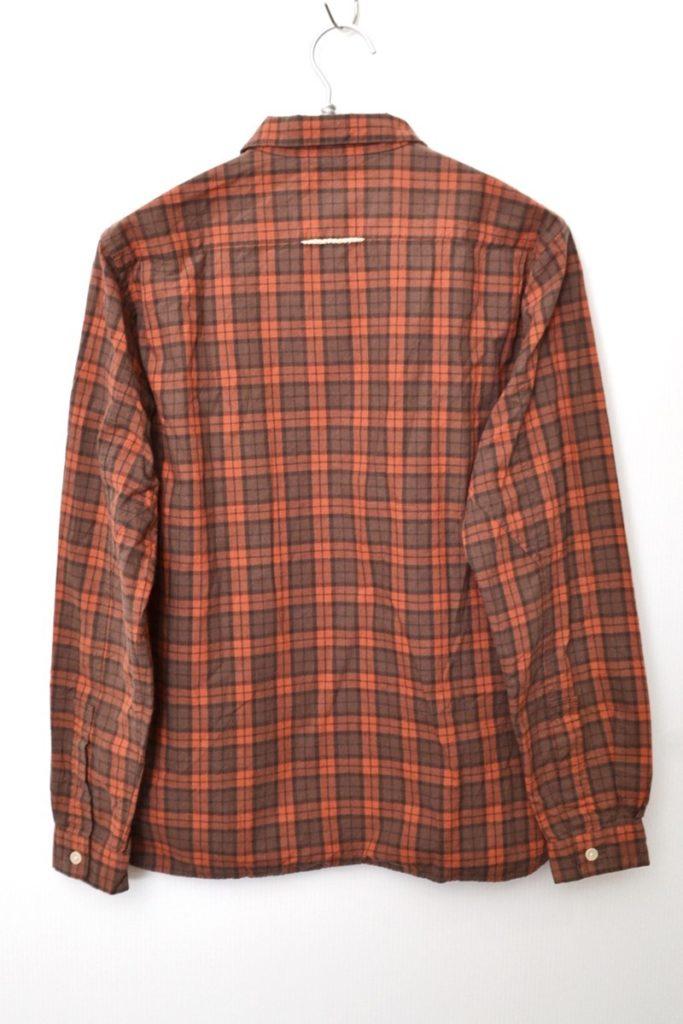 BUTTON SHIRT PULL OVER プルオーバー チェック ボタンシャツの買取実績画像