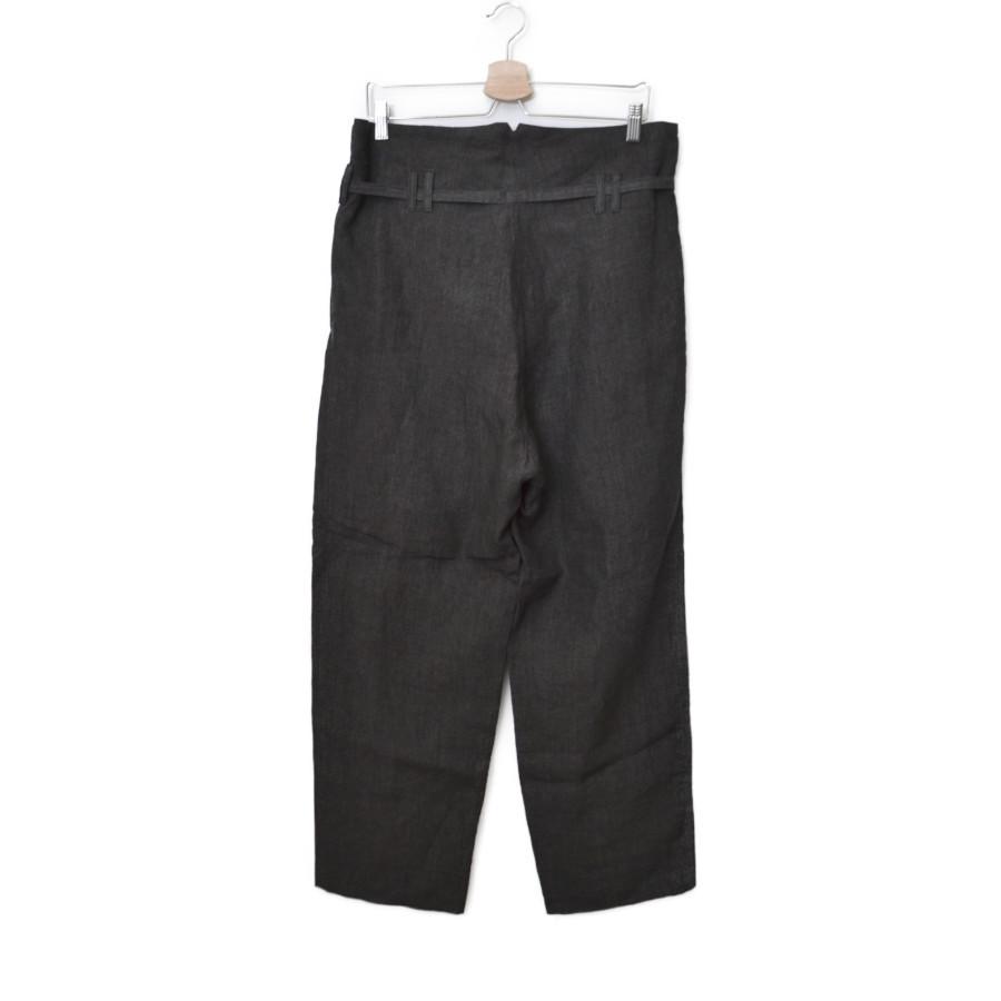 2018SS/ リネン ボタンフライ ベルト パンツの買取実績画像