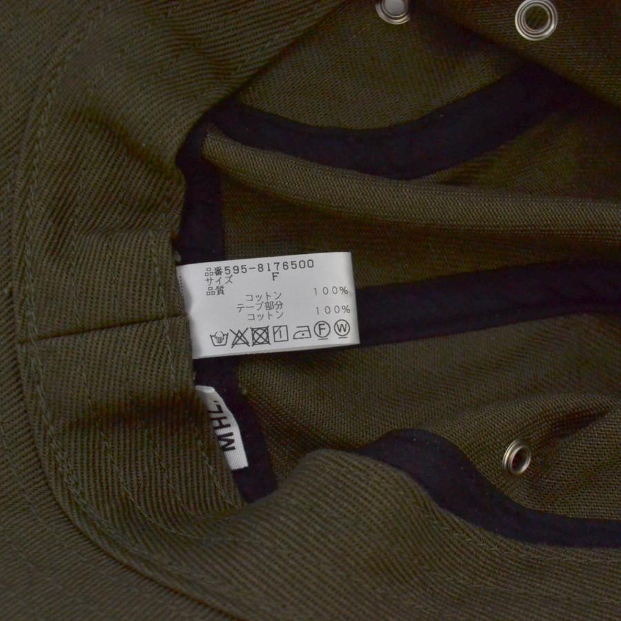 RAISED COTTON DRILL HAT コットン ハットの買取実績画像