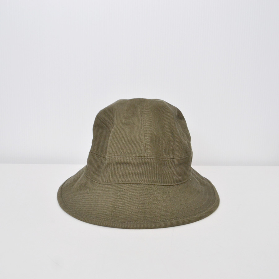 RAISED COTTON DRILL HAT コットン ハット