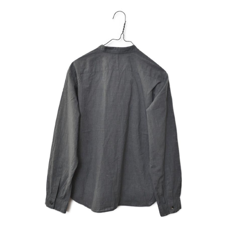 バンドカラー フリル リボン 長袖 シャツの買取実績画像