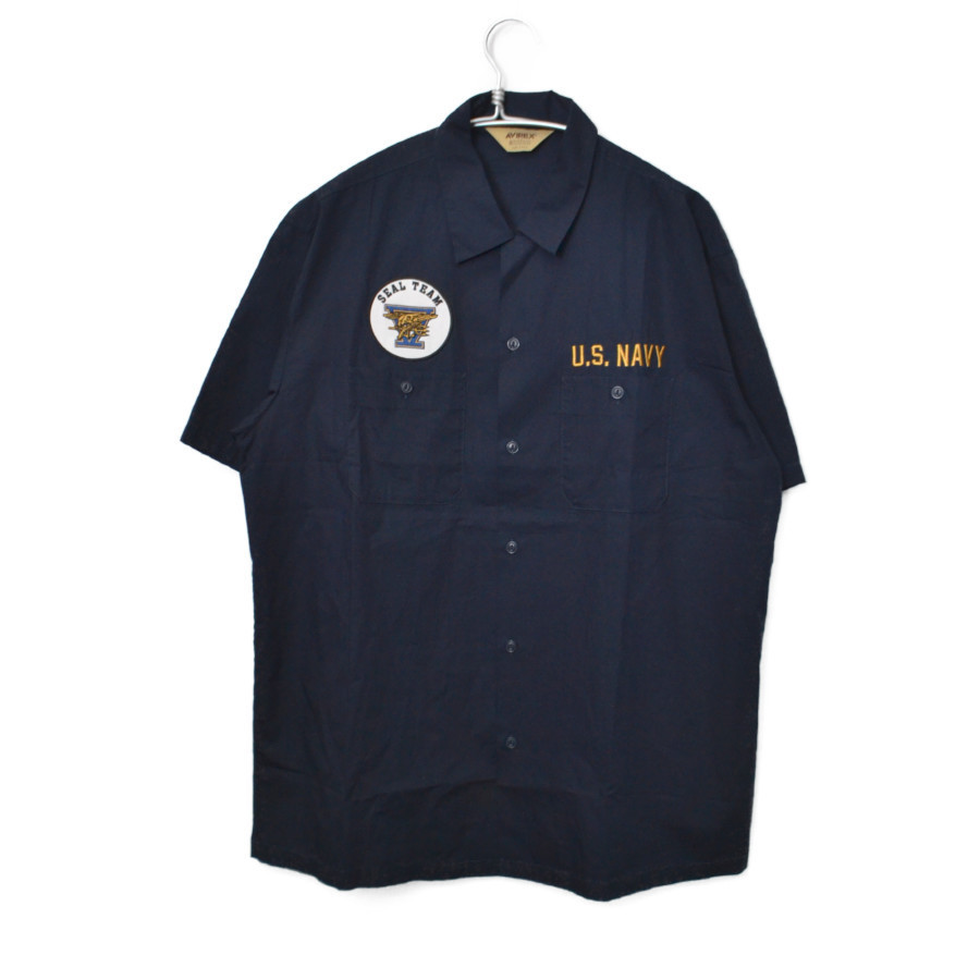 WORK SHIRT SEAL TEAM 5 シール チーム 半袖 ワーク シャツ