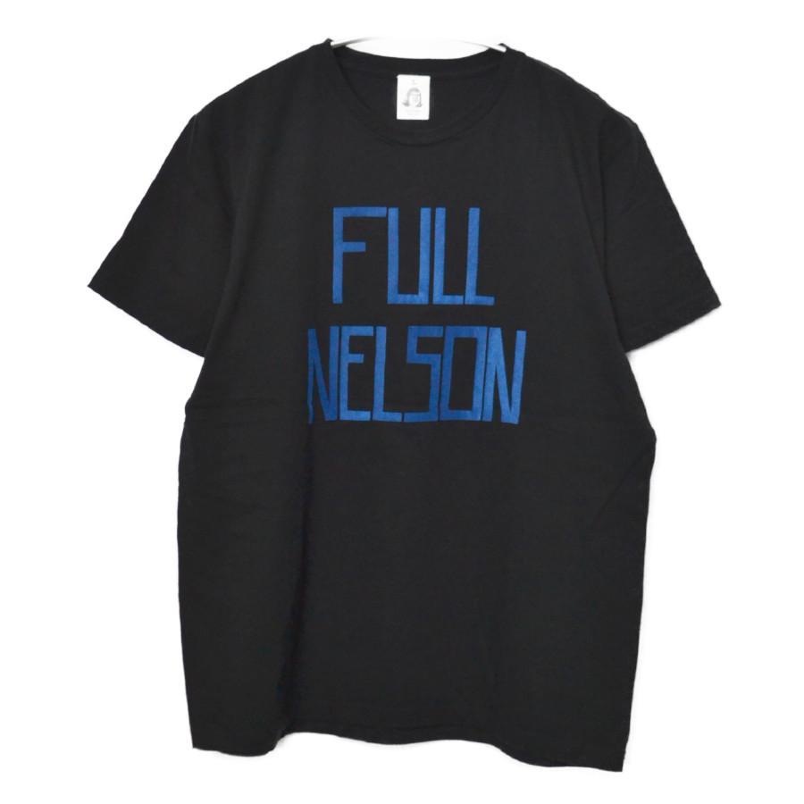 FULL NELSON フロッキー プリント Tシャツ