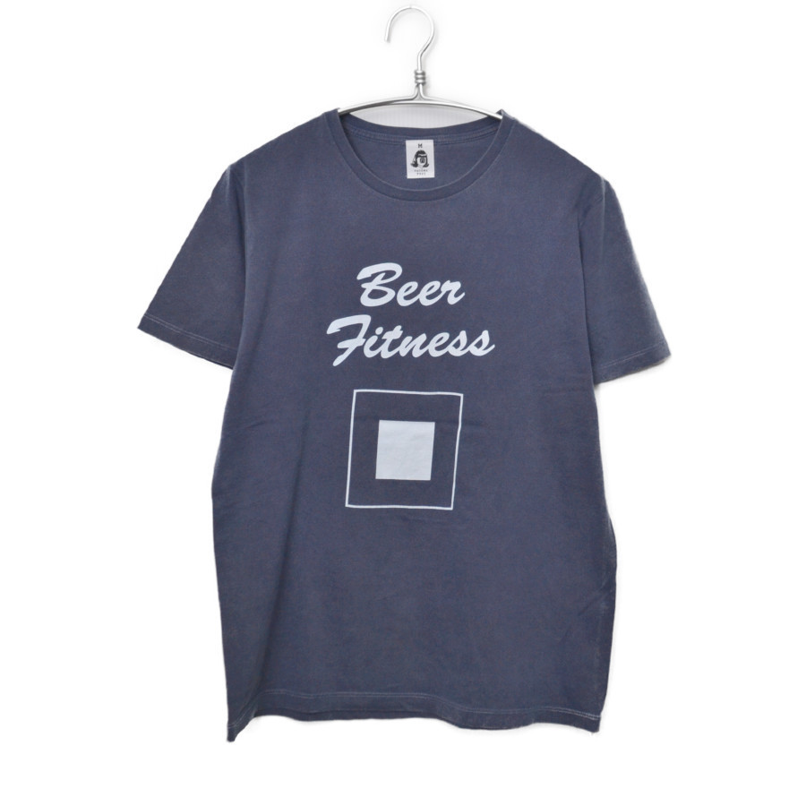 Beer Fitness プリント Tシャツの買取実績画像