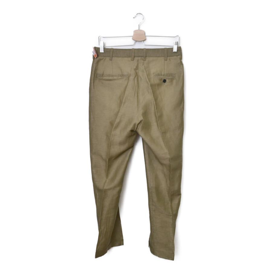 リネン ポリ テーパード パンツの買取実績画像