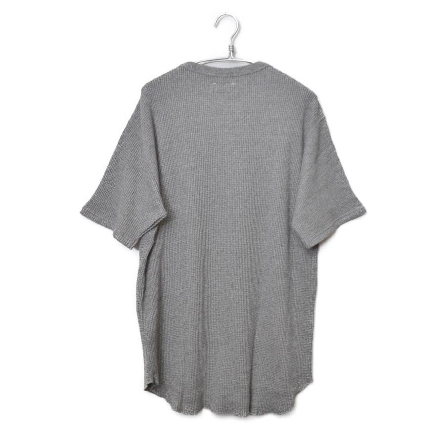 BIG WAHHLE LOOSE TEE ポリエステル コットン ワッフル 半袖 Tシャツの買取実績画像