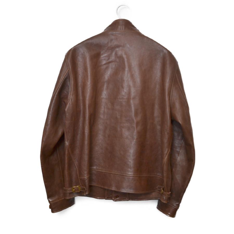 menlo cossack jacket メンロ コサック レザー ジャケットの買取実績画像