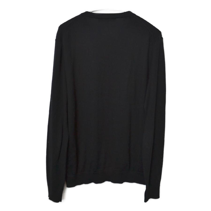 2008SS/ 胸刺繍 Vネックコットンニットセーターの買取実績画像