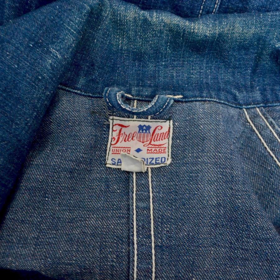 1950-60s 星刻印ボタン ヴィンテージ デニムカバーオールジャケットの買取実績画像