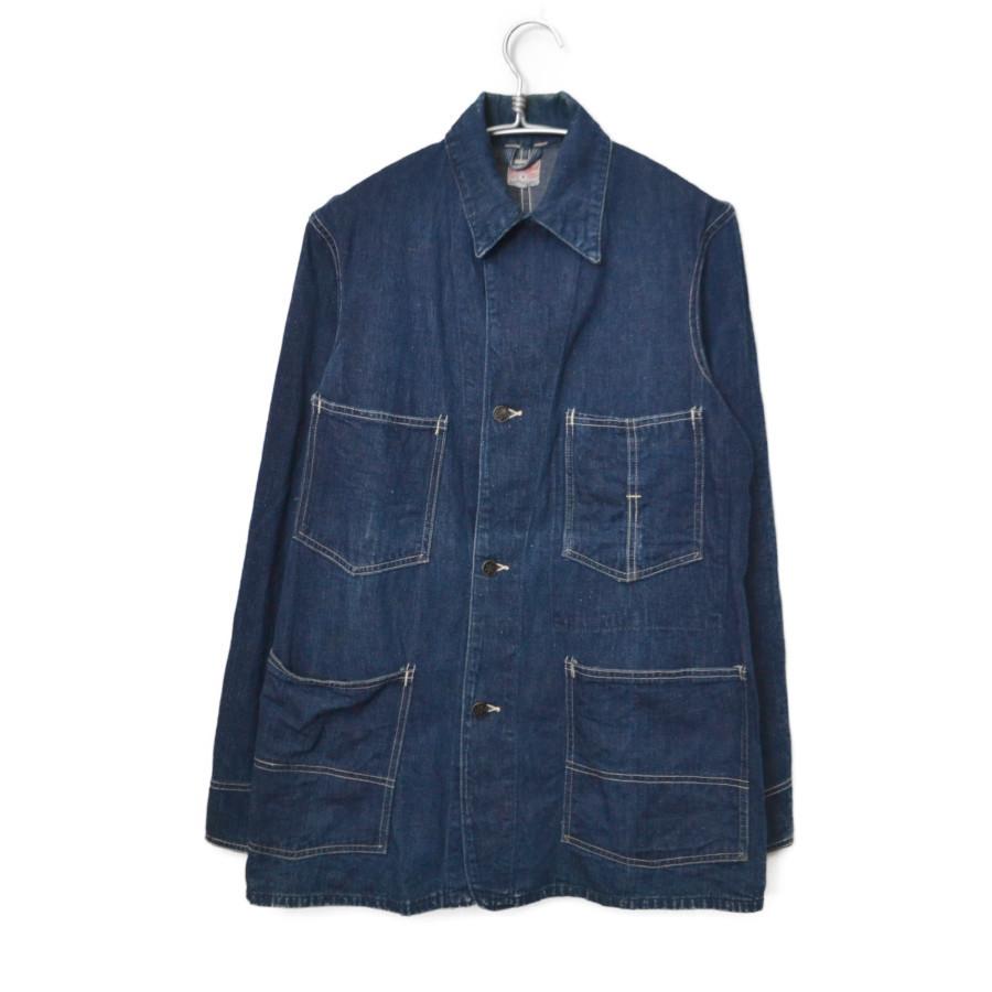 1950-60s 星刻印ボタン ヴィンテージ デニムカバーオールジャケット