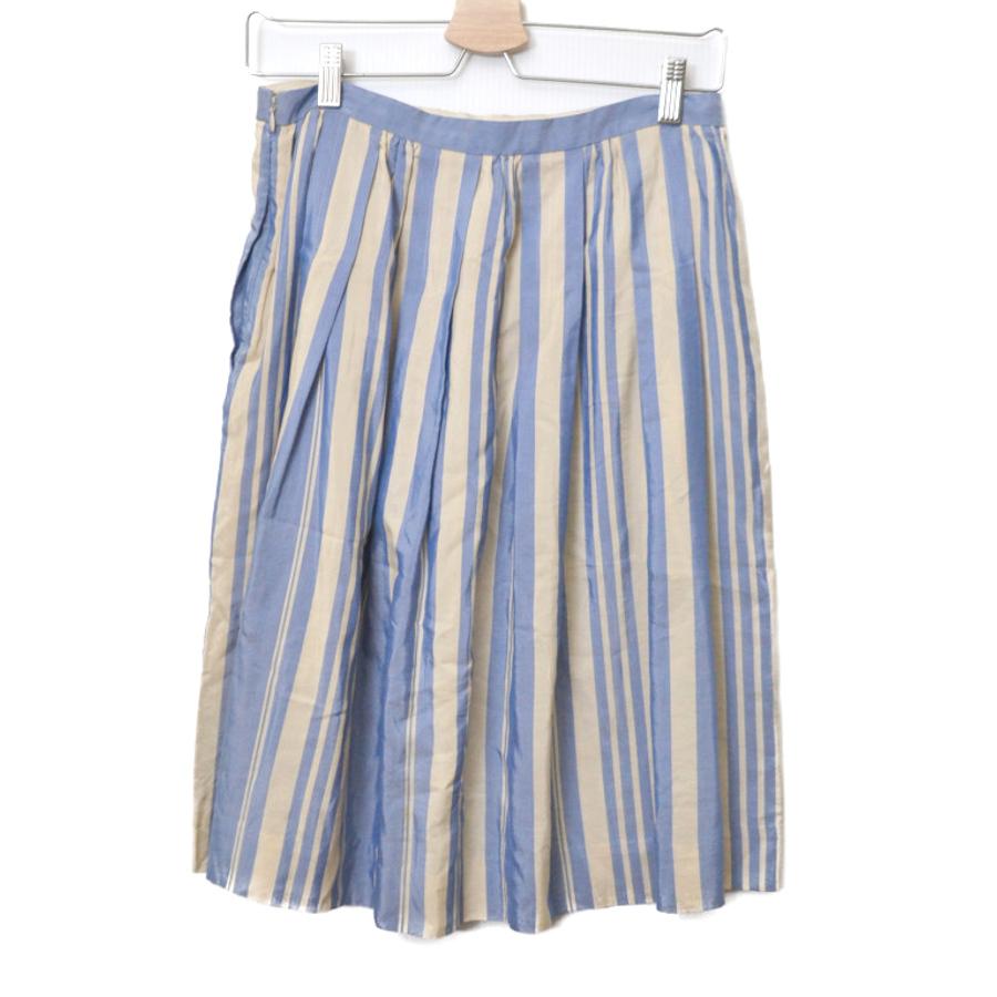コットン シルク ストライプ スカートの買取実績画像