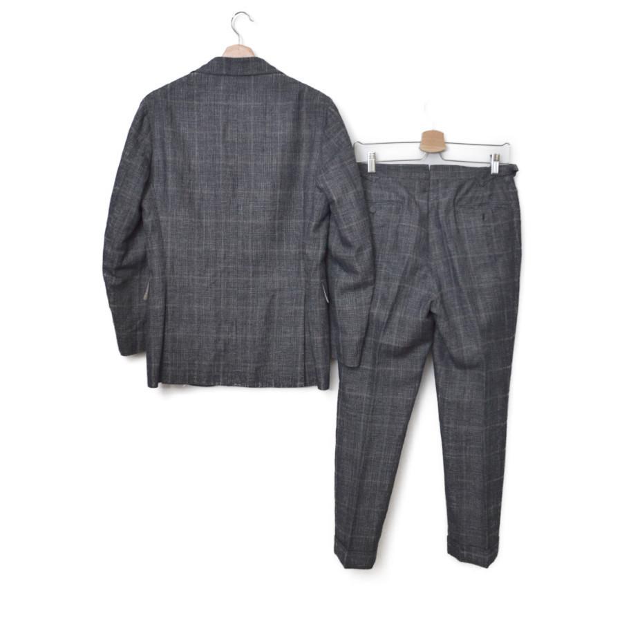 リネン シルク コットン セットアップ スーツの買取実績画像