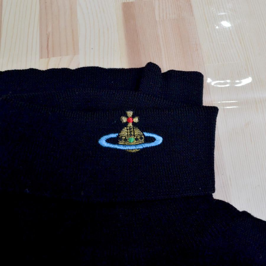 イタリア製 ウール 刺繍 タートルネック ニットセーターの買取実績画像