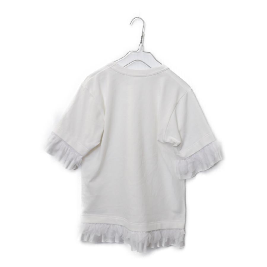 AD2007 08SS/ポリエステル縮絨 フリル Tシャツの買取実績画像