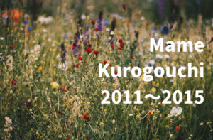 マメクロゴウチのシーズンテーマ解説 【2011~2015まで】|Mame Kurogouchi