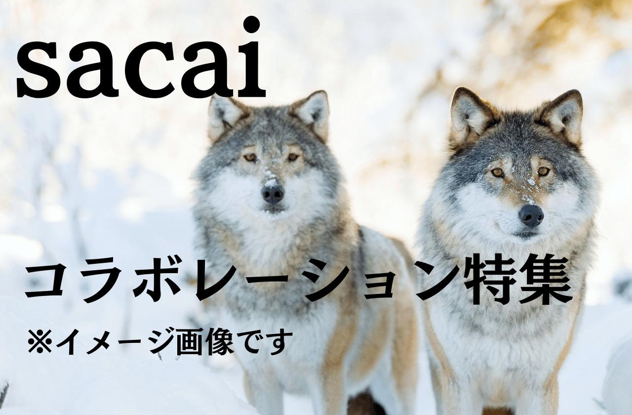 あのブランドとも?sacaiとコラボしたブランド、アーティスト特集|サカイ
